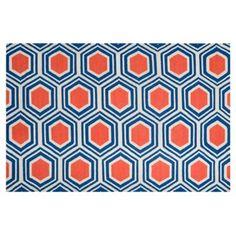 Check out this item at One Kings Lane! Pandora Flat-Weave Rug, Multi