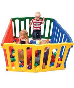 Jolly KidZ MagicPanel Playpen. Bright and fun for the kids to hang out and play in.