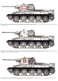 T34/76, medium tank