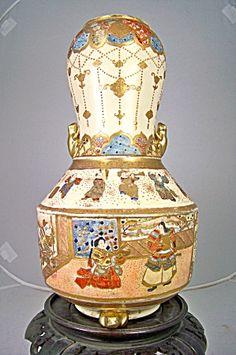 Rare form Japanese Meiji Satsuma Vase