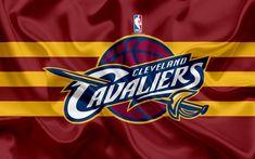 Descargar fondos de pantalla Cleveland Cavaliers, Club de Baloncesto, la NBA, emblema, logotipo, estados UNIDOS, la Asociación Nacional de Baloncesto, Bandera de Seda, de Baloncesto, de Cleveland, Ohio, EEUU de Baloncesto de la Liga, División Central