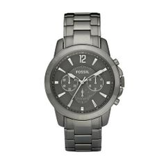 Fossil FS4584 Mens GRANT Grey Chronograph Watch Fossil. $128.00. Grey Dial Chronograph Watch. Grey Stainless Steel Band. Date. FS4584 Fossil Men Watch