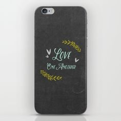 Skins are thin, easy-to-remove, vinyl decals for customizing your device. Skins are made from a patented material that eliminates air bubbles and wrinkles for easy application.  #heavenleedays #chalk #chalkart #typography #love #loveoneanother #bibleinspired #faith #christianart #giftidea #phonecase #iphonecase #galaxycase