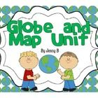 This is a Globe and Map Unit created to assist with a second grade map studies unit. It can be adapted to fit grades 1-4 depending on needs.