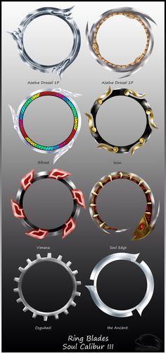 Tira's Ring Blades <3
