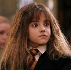 Who doesn't just adore this look on Hermione's cute face