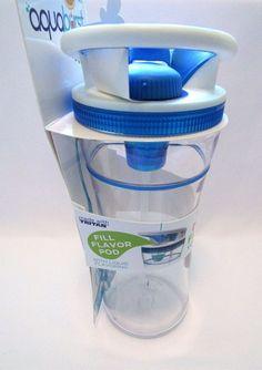 Cool Gear Aqua Burst Beverage Travel Cup Mug With Flavor Burst Pump  BPA Free #CoolGear