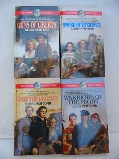 Mixed Titles by Kerry Newcomb - Westerns Lot of 4 Used Books (No Dup's)  #L62