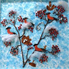 Ideas for winter applications using cotton wool 0 Animal Crafts For Kids, Winter Crafts For Kids, Art For Kids, Bird Crafts, Diy And Crafts, Paper Crafts, Christmas Gifts For Teen Girls, Christmas Art, Winter Art Projects