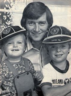 Bruce Rioch family picture 1977