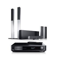 """Teufel LT 4 Impaq """"5.1-Set M"""" Spielfertige 5.1-Blu-ray-Komplettanlage mit HiFi-Säulen aus Aluminium ✔ Slim-Line-Blu-ray-AV-Receiver mit HD-Audio, 3D, Streaming über Bluetooth und DLNA! Perfekt abgestimmte Komponenten, sofort spielfertig, inkl. hochwertigem Kabel-Set"""