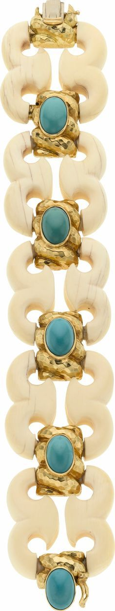 Gold and turquoise - David Webb