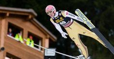 Severin Freund, Deutschland, beim Skispringen Weltcup in Engelberg / Schweiz | Fotograf Kassel http://blog.ks-fotografie.net/pressefotografie/fis-skispringen-engelberg-schweiz-fotografiert/