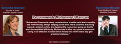 Samantha Anderson Founder at Order Fulfillment Experts Limited Recommends Muhammad Ramzan Social Media & Internet Marketing Consultant.