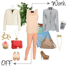 On & Off, created by chloe-ho on Polyvore
