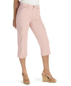 Womens Capri Pants - Comfort Fit