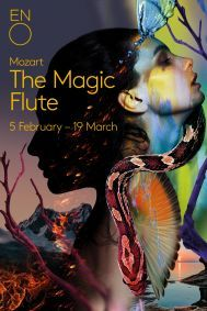 The Magic Flute poster, ENO