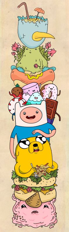 Adventure Time Art Print by Laura O'Connor