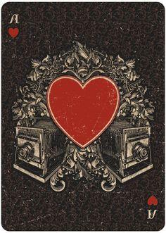 ORACLE - Mystical playing cards by Chris Ovdiyenko on  Kickstarter until Nov. 8…