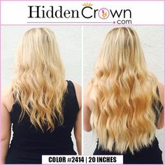 How long do you want your hair?  www.hiddencrown.com
