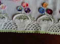 Αποτέλεσμα εικόνας για panos de prato com croche