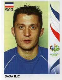 Sass Ilic of Serbia. 2006 World Cup Finals card. 2006 World Cup Final, Medical Mnemonics, Fifa World Cup, American Football, Germany, Soccer, Display Cases, Finals, Albums