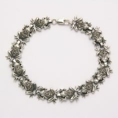 Marcasite Frog Tennis Bracelet at theBIGzoo.com, a toy store featuring 3,000+ stuffed animals.