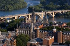 Georgetown University was founded in 1789 as the first Roman Catholic college, and first of the Jesuit order, to be established in the United States. The town of Georgetown was then in Maryland, and pre-dated the establishment of the city of Washington. When the District of Columbia was created in 1791, it incorporated the town of Georgetown into its new boundaries. Georgetown is best known for its school of international relations, the School of Foreign Service.