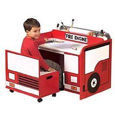 Firetruck Bedroom Decor | GroovyKidsGear.com