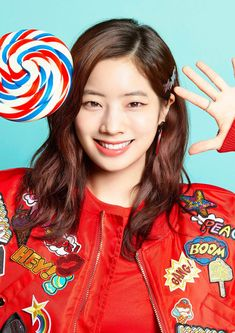 오늘의유머 - 트와이스 Candy Pop 프로필 사진