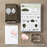 The Balloon Celebration Bundle is one of My Favorite Things from the Stampin' Up! 2016 Occasions Catalog. For more details about this product and to shop, visit: http://www.stampinup.com/ECWeb/ProductDetails.aspx?productID=140810&dbwsdemoid=2026178