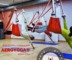 yogacreativo.com: PRIMERA FORMACIÓ PROFESSORS IOGA AERI I PILATES AERI A CATALUNYA !.