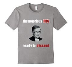 The Notorious RBG Ready To Dissent T-Shirt  https://www.amazon.com/dp/B01IHV6H1Y/ref=cm_sw_r_pi_dp_b8PJxb42PNC83 #rbg #notoriousrbg #ruthisthetruth