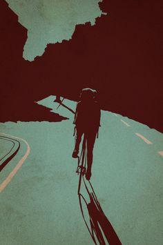 Image of 'Night Ride' print by Adams Carvalho