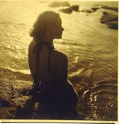 "Australian photographer, Olive Cotton, 1937 ""Jenny"" - My Grandma Australian Photography, Art Photography, Mood Light, Portraits, Indigenous Art, Beach Ready, Female Photographers, Vintage Girls, Amazing Women"