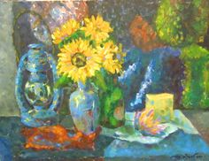 My practice still life in 2000