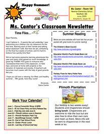 free teacher newsletter templates downloads newsletter templates in microsoft word format. Black Bedroom Furniture Sets. Home Design Ideas