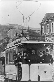 Tram a Catania,anni Foto Vintage, Catania, Street View
