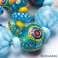 Lampwork Beads by Romana / May 2013