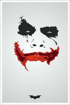 The joker 🃏 Joker Batman, Heath Ledger Joker, Joker Art, Joker Poster, Joker Images, Joker Pics, 3d Prints, Poster Prints, Joker Kunst