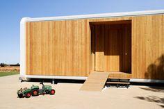 NOEM   Casas de madera modernas, ecologicas high-tech y prefabricadas
