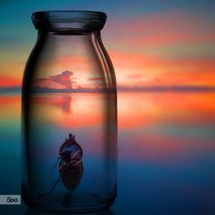 Fotografía Message in a bottle por Taisen  Lin en 500px