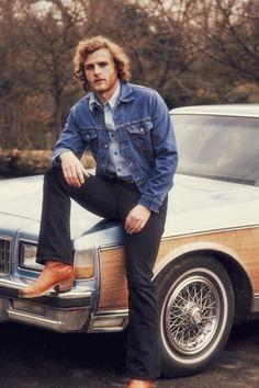 1970's Levi's Orange Tab Denim