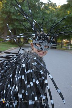 Fierce Porcupine Costume for a Boy... Coolest Homemade Costumes