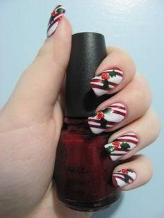 Festive Holiday Nail Art