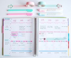 Erin Condren Life Planner Setup Tour by Label Me Merrit