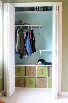 Kid Clothes Organization: The Most Important Part is that I Can't See Them (the clothes, not the kids)