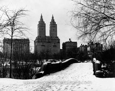 The San Remo Apartments, seen from Central Park, 1932