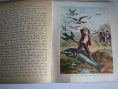 Antique Swiss Family Robinson Book /  In One by BlueSkiesVintage4U, $5.00