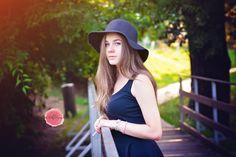 #girl #bridge #hat #summersun #summer #photography #petfruska